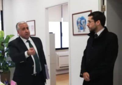 O Centro de Arbitragem da Autónoma recebeu o Secretário de Estado da Defesa do Consumidor.