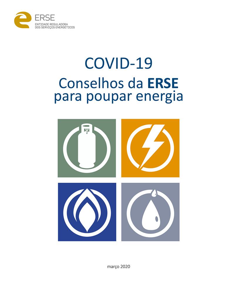 COVID-19- Conselhos da ERSE para poupar energia