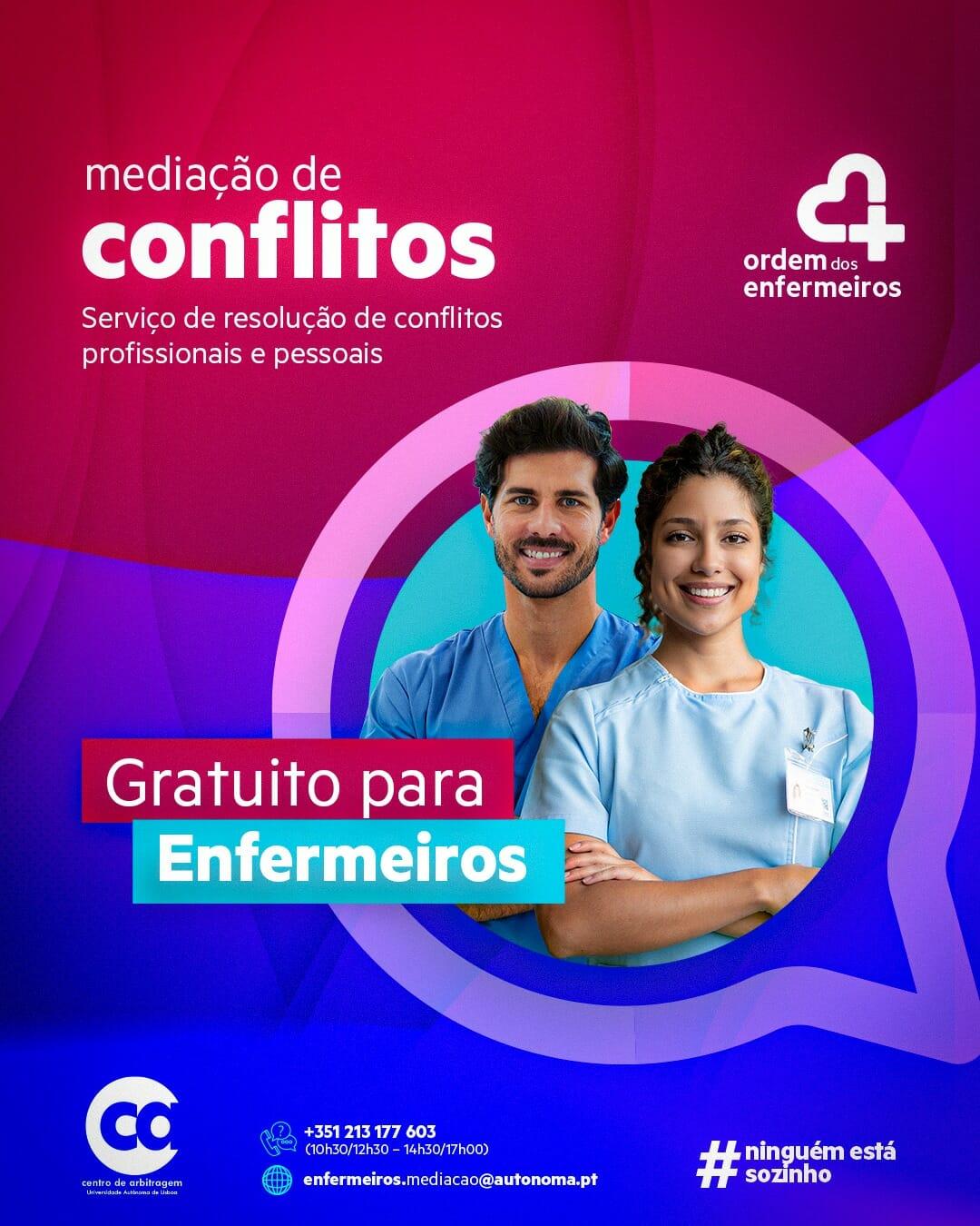 Protocolo colaboração Centro de Arbitragem da Universidade Autónoma de Lisboa – Ordem dos Enfermeiros